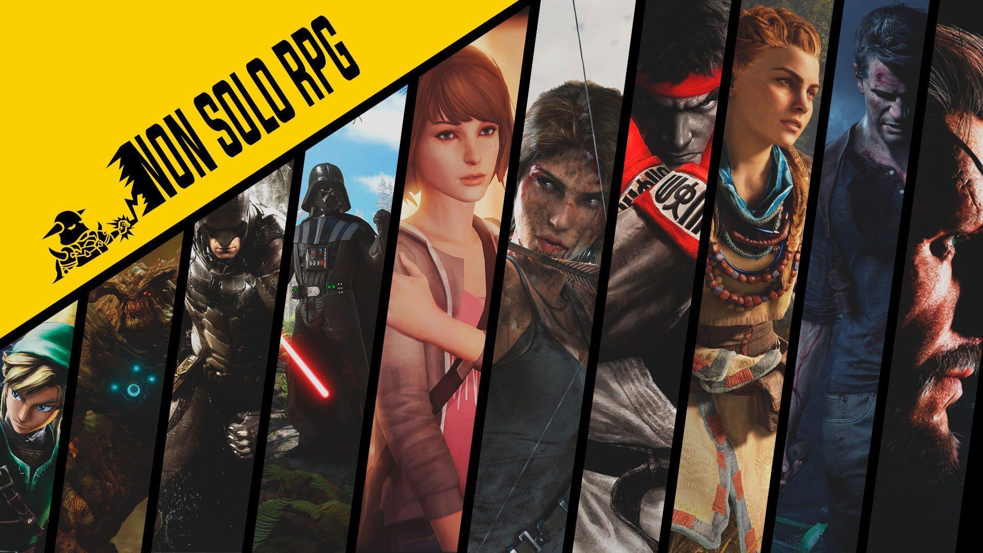 Rubrica non solo RPG – Logo