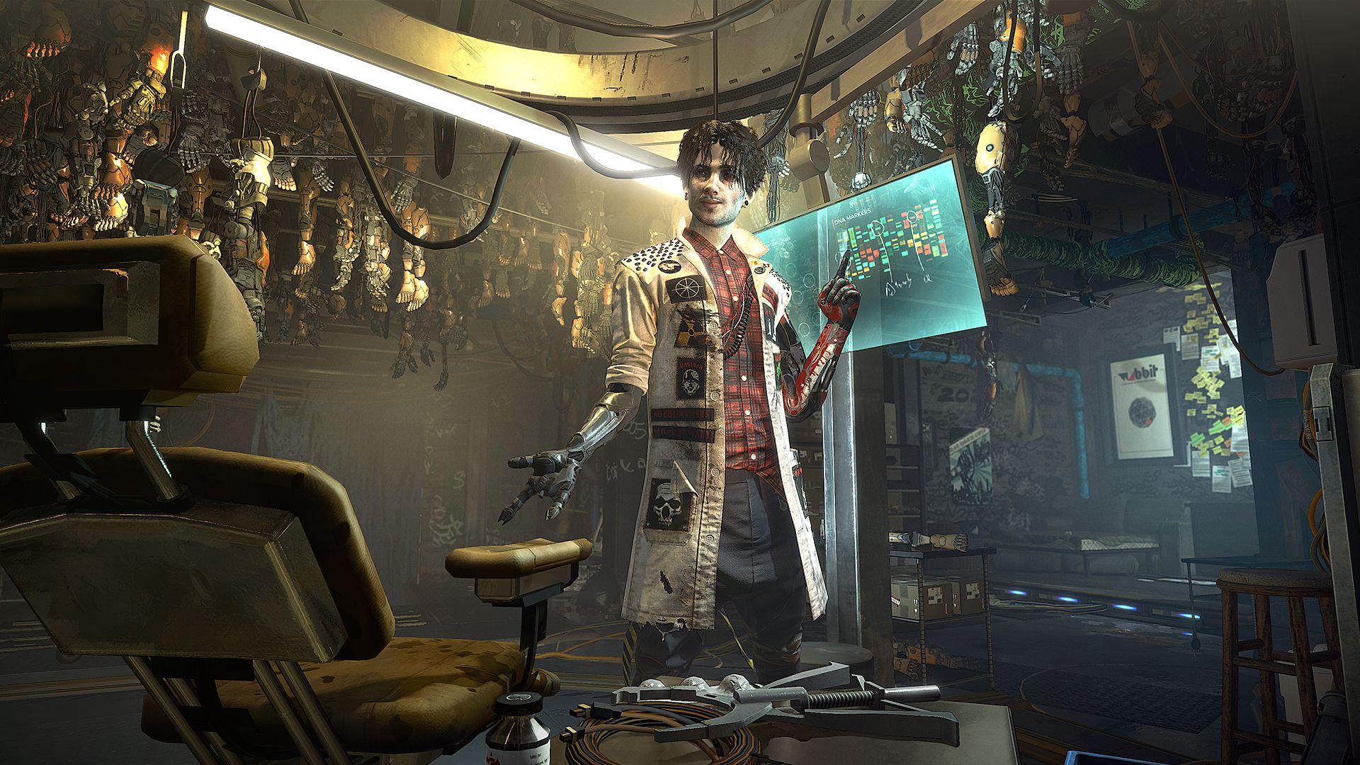 Deus Ex: Mankind Divided – Trailer 101
