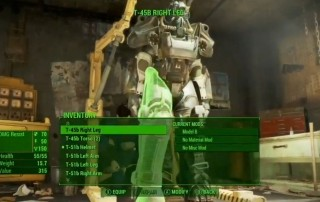 Fallout 4 - Customizzazione armatura
