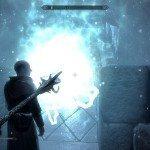 Usate il Bastone di Magnus sulla barriera che avvolge il Collegio.