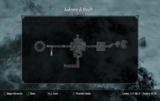 La mappa dell'Aedromo di Mzulft.