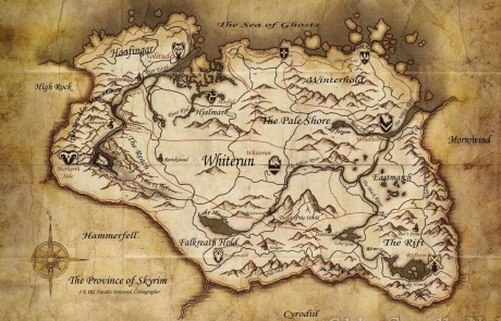 Le Mappe del Tesoro di Skyrim