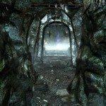 Oltre questa porta vi attende il combattimento con Halldir.