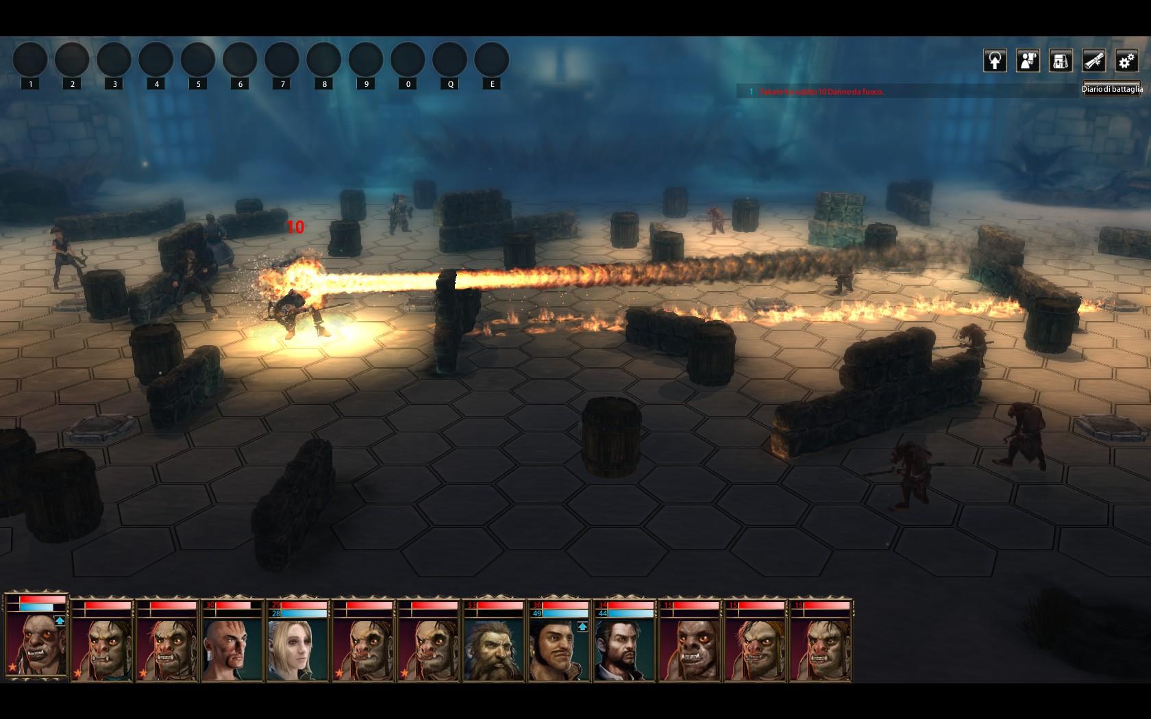 Blackguards battaglia