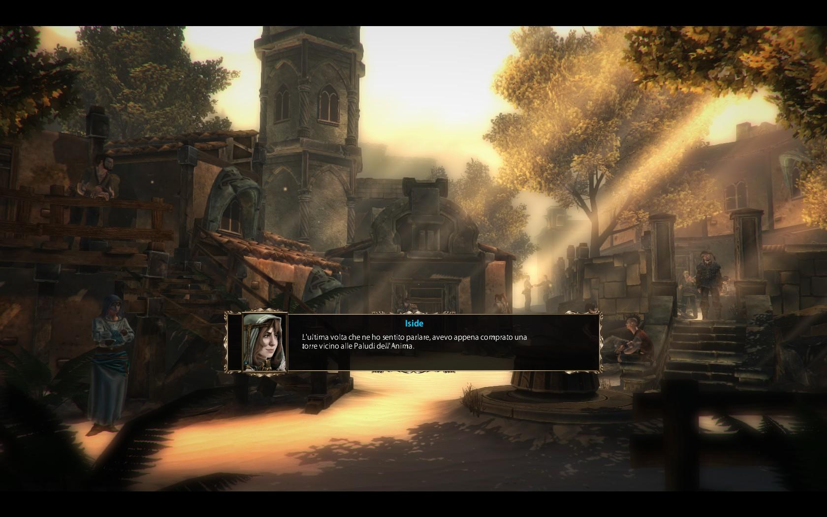 Blackguards dialoghi