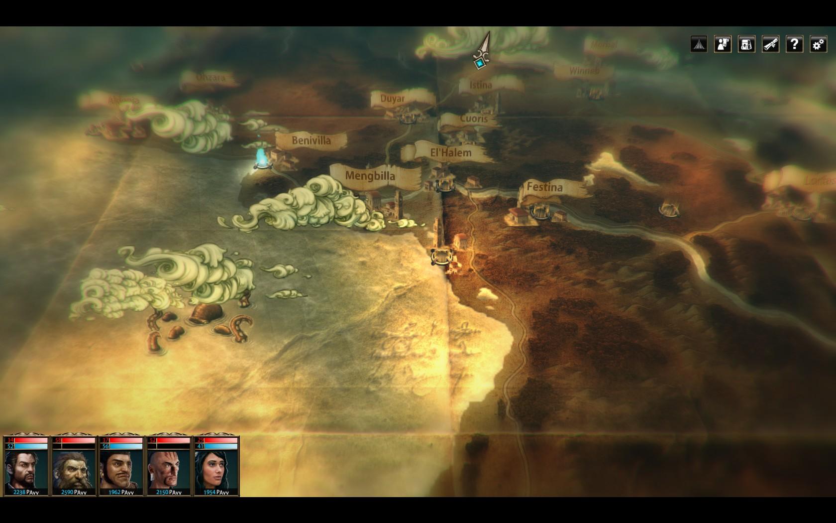 Blackguards mappa
