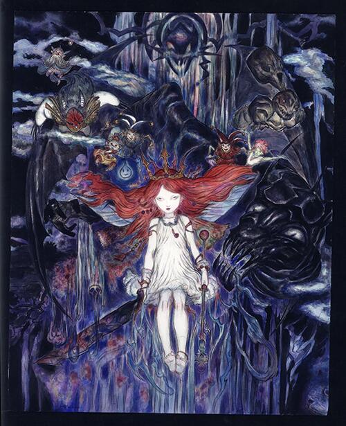 child of light - artwork di Amano