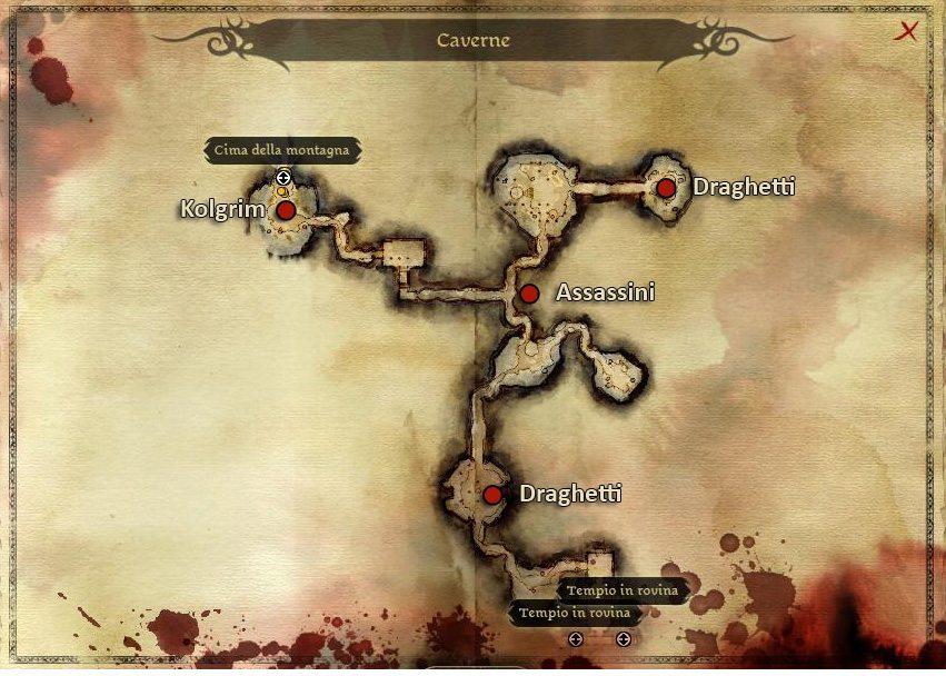 Dragon Age Origins : Caverne