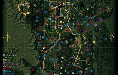Mappa di Fallout New Vegas