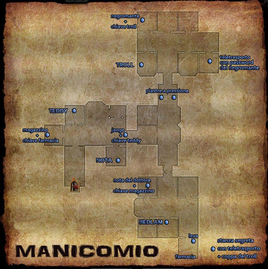 Flames of Vengeance - Manicomio