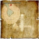 Venetica - mappa del tesoro di Taker