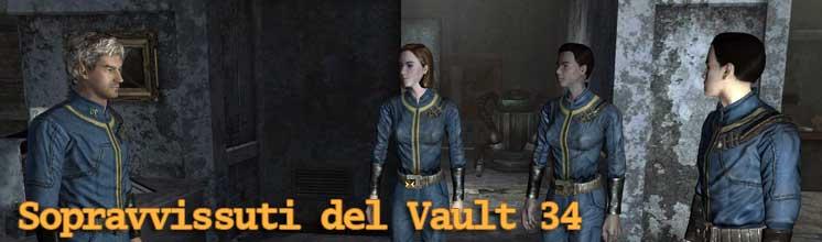 Sopravvissuti del Vault 34