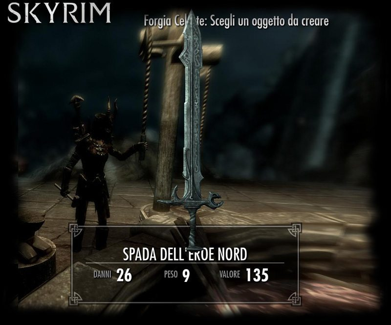 Skyrim: Forgia Celeste