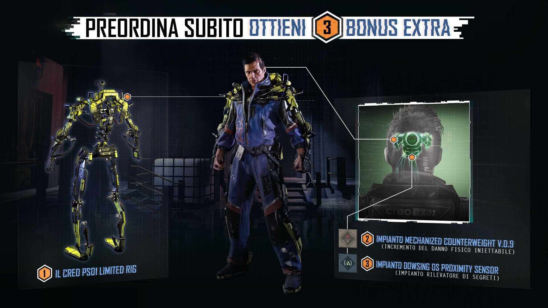 The Surge - Bonus pre ordine