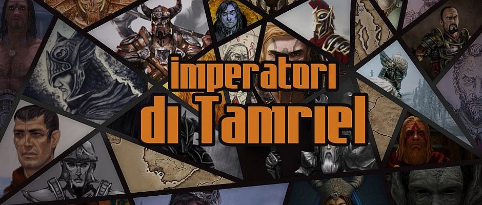 """Rubrica """"Gli imperatori di Tamriel"""" - Cover"""