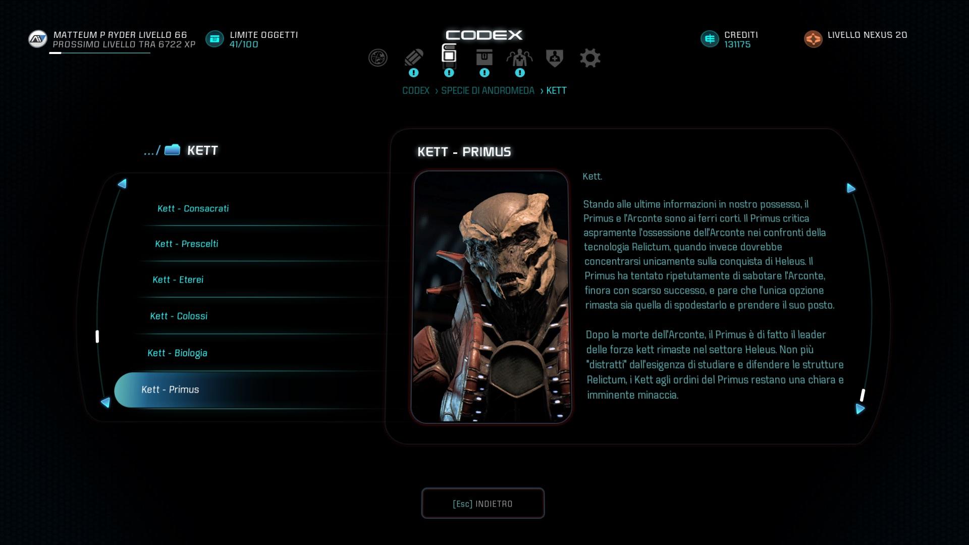 Una pausa per Mass Effect