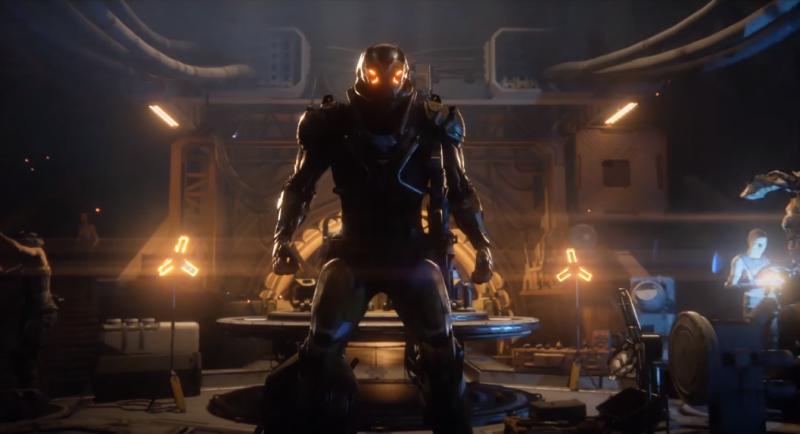 Il primo video gameplay di Anthem, la nuova IP di Bioware
