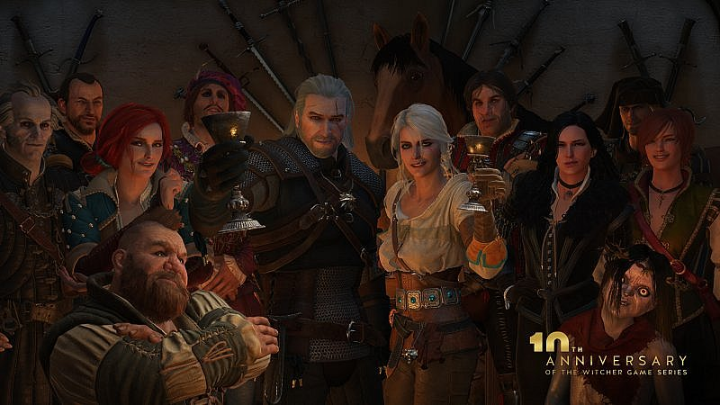 The Witcher - 10° anniversario
