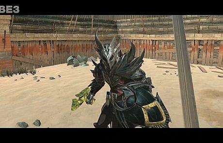 tes-blades fight