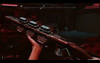 cyberpunk 2077- fucile