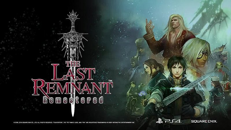 the last remnant - cover