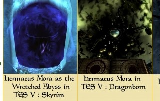 Hermaeus Mora daggerfall skyrim dragonborn teso