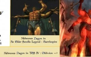 Mehrunes dagon daggerfall battlespire oblivion