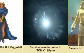 Meridia daggerfall skyrim teso