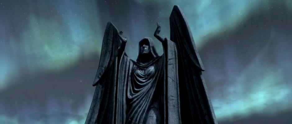 "L'imponente Santuario di Meridia in ""TES V: Skyrim"""