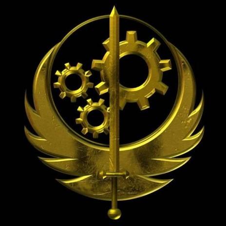 Il simbolo della Brotherhhod of Steel