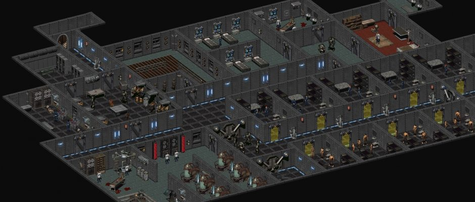 Le celle di detenzione dell'Enclave Oil Rig