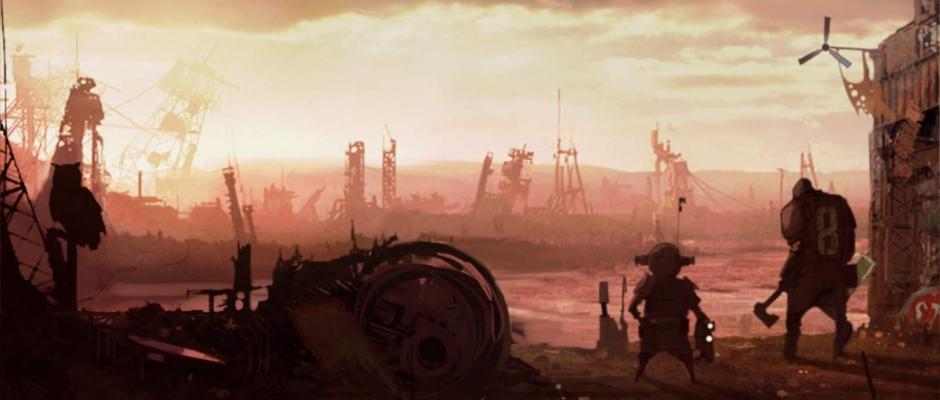 Uno degli intermezzi narrativi che ci presenta il bizzarro setting di Krater.