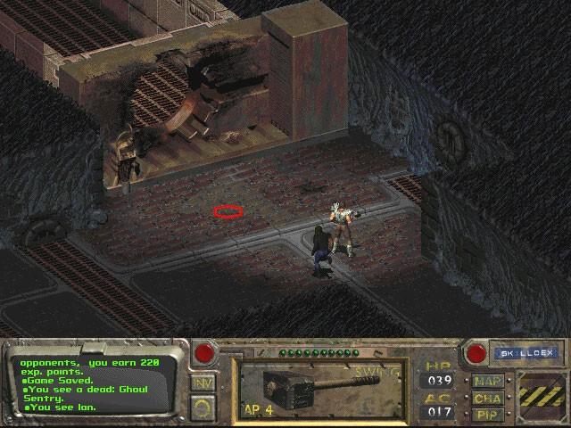 In Fallout 1 possiamo visitare Necropolis