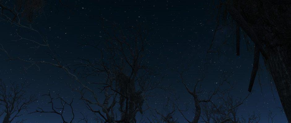 E per tetto un cielo di stelle