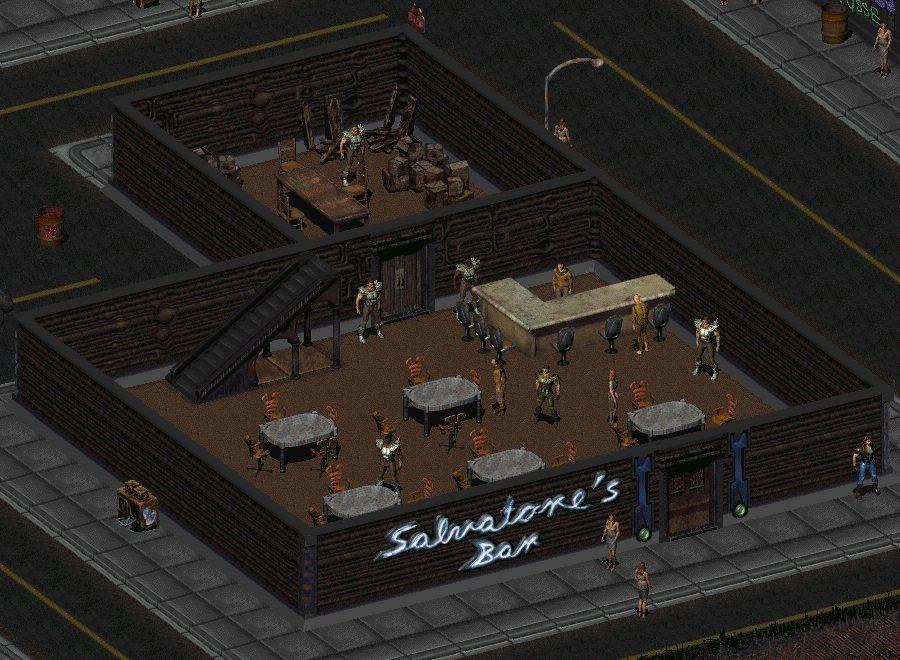 Il Salvatore's Bar a New Reno
