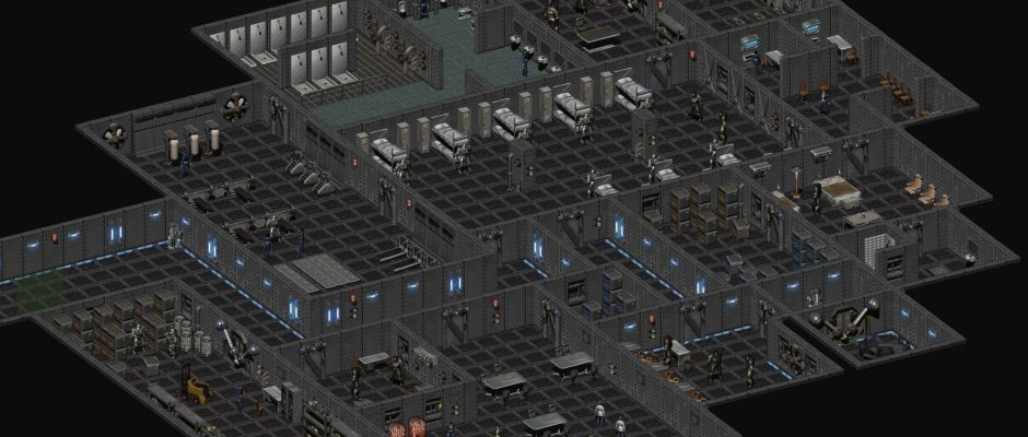 Le caserme dell'Enclave Oil Rig