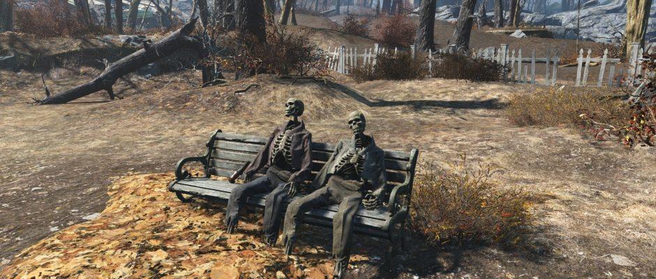 Questa tranquilla coppia ha certamente visto tempi migliori