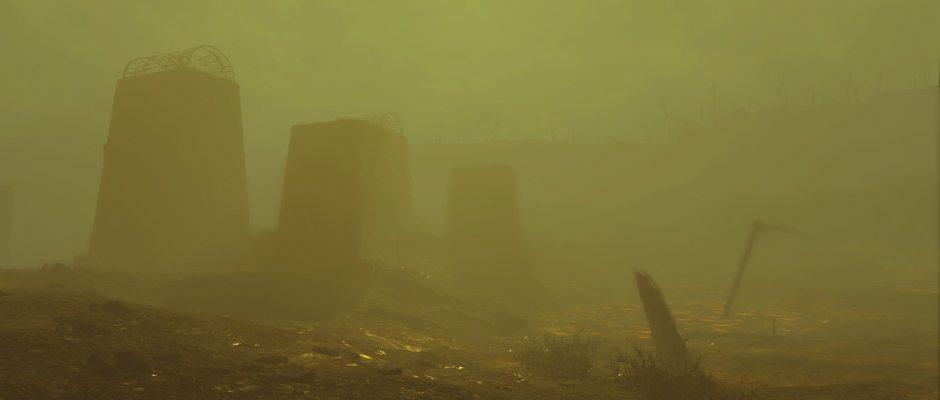 Una tempesta radioattiva è sempre inquietante